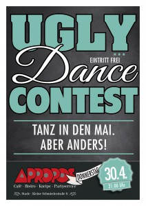 UGLY_DANCE_Plakat